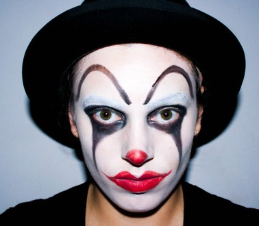 best easy creepy clown face paint image collection