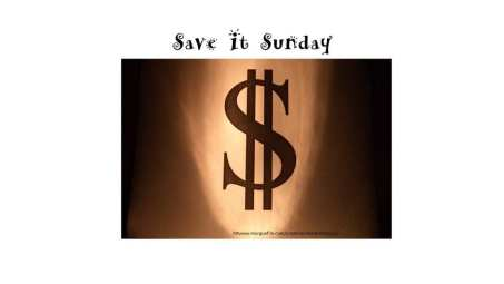 Save It Sunday