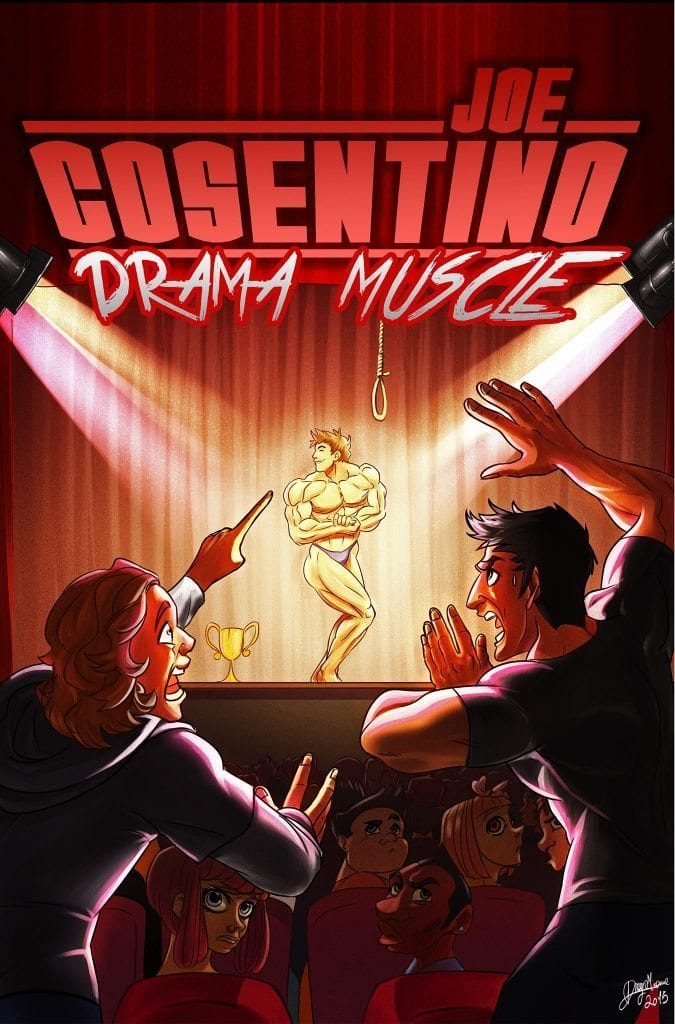 On Tour with~~ Joe Cosentino~~Drama Muscle