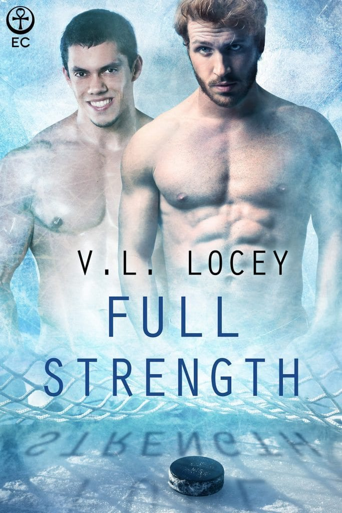Cat's Meow~~ Reviews That Purr~~Full Strength by V.L. locey~~#Hot #Gay #Hockey  #Romance