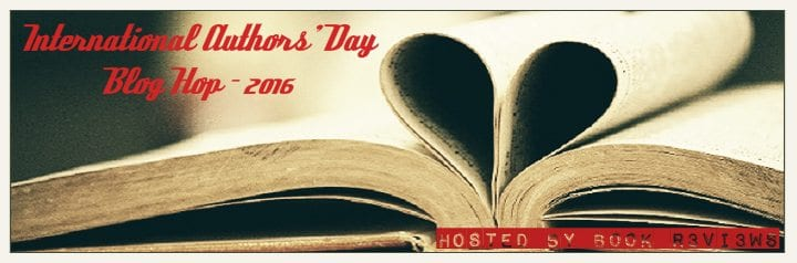 International Authors' Day Blog Hop 2016 #favorite Authors