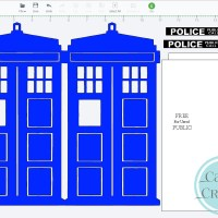 Tardis Birthday Card