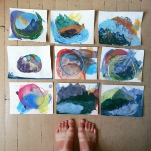 Cathy Durso - small drawings