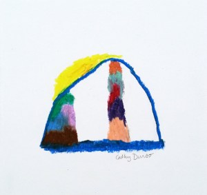Tent with Color Towers 4