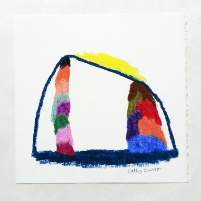 Tent with Color Towers 2