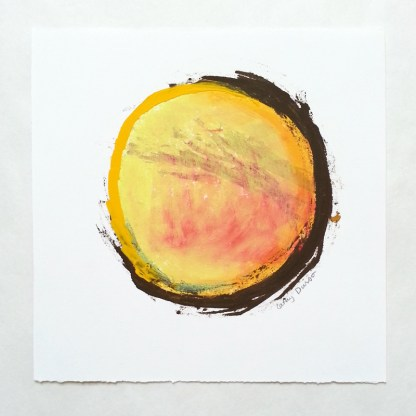 Yellow/Red/Brown Circle