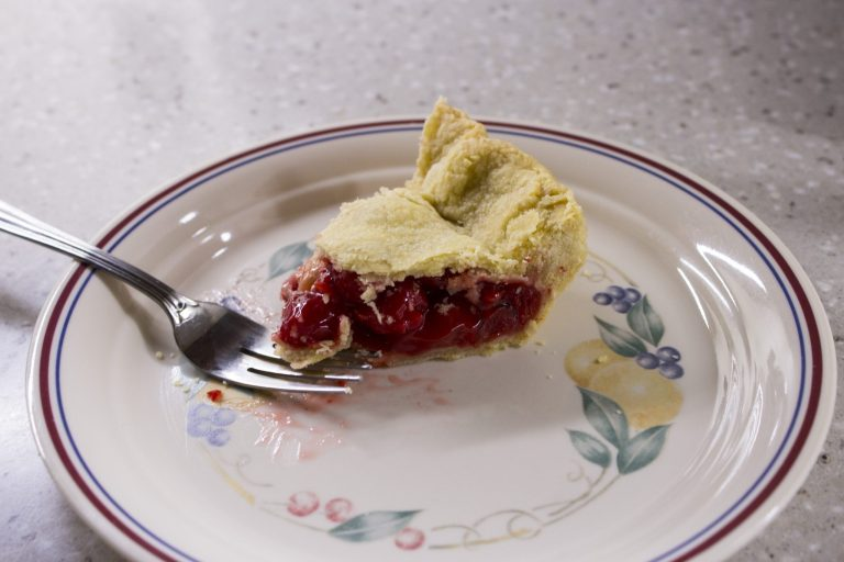 flaky crust, cherry pie filling, Spencerport, New York