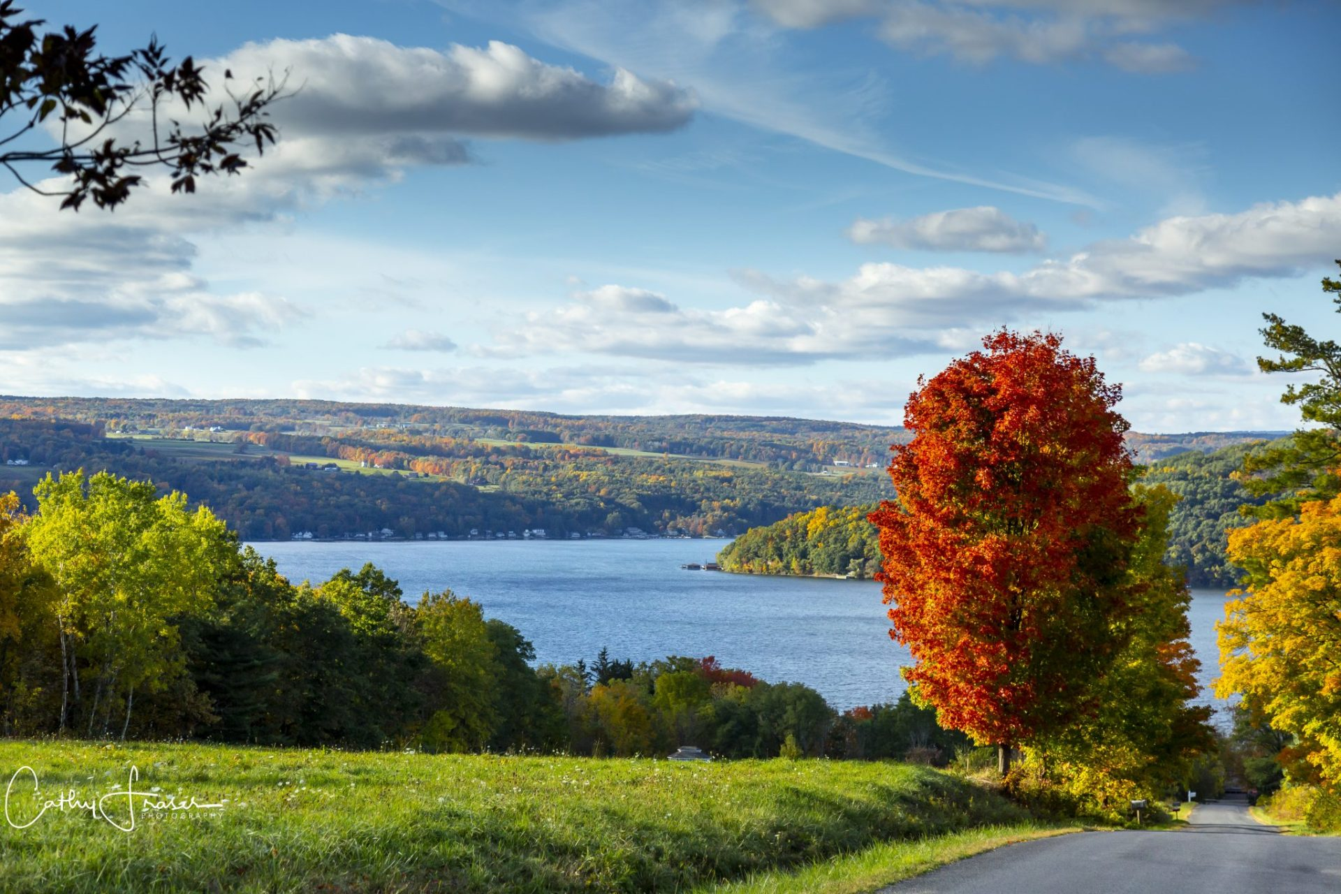 Landscape Photography of a lake in New York