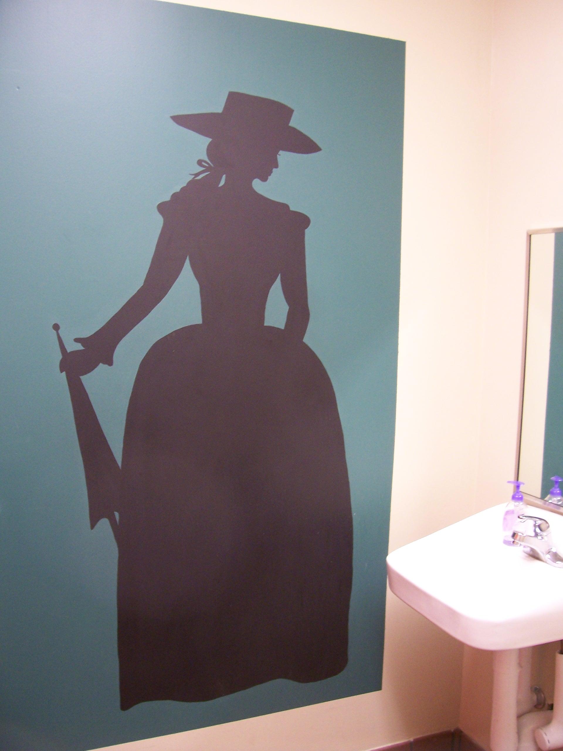 Women's restrooms