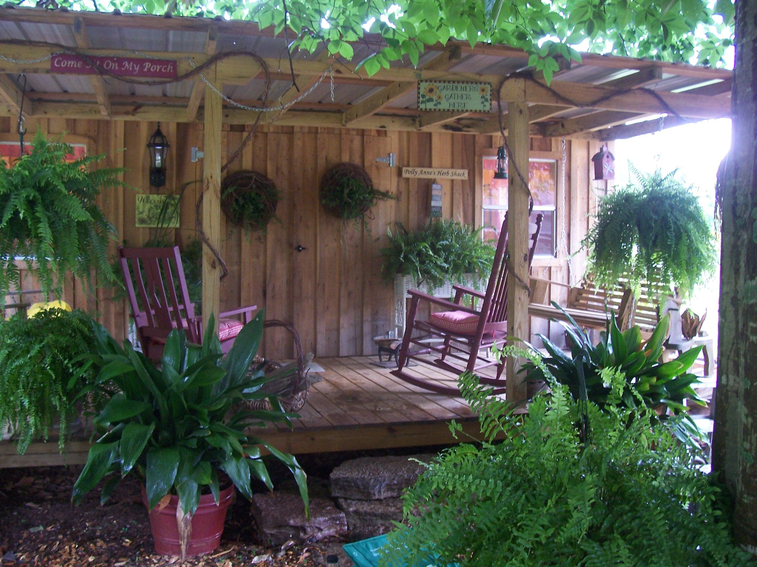 Herb shack