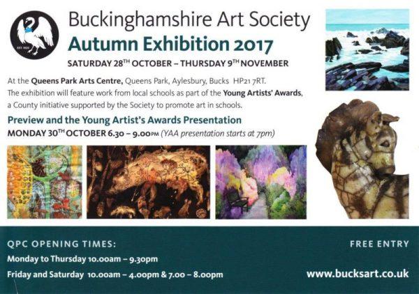 Bucks Art Society Autumn-invite