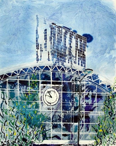 ©2011- Cathy Read-Decades Apart-50x40cm- Mixed Media