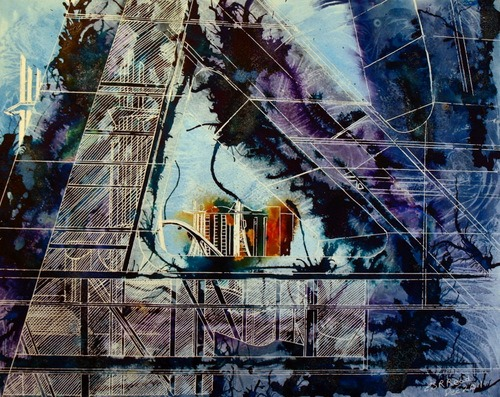 2011 Cathy Read - A New Perspective- Mixed Media - 40cm x 50cm