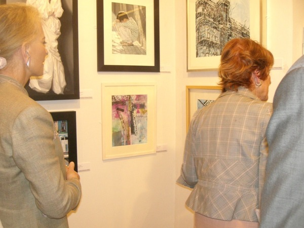 ©2013 - Cathy Read Society or Women Artists Private View, Mall Galleries - Princess Michael of Kent