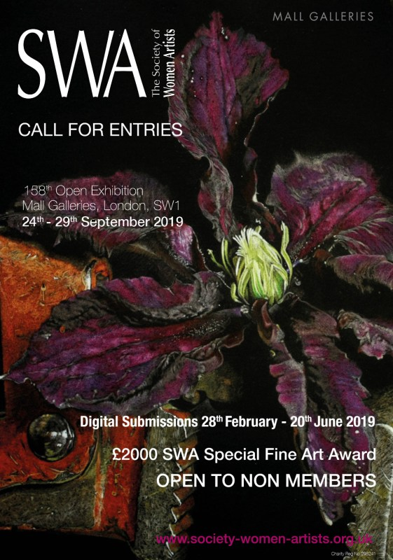 Society of Women Artist Exhibition Poster