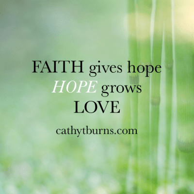 My Morning Reflections on Hope