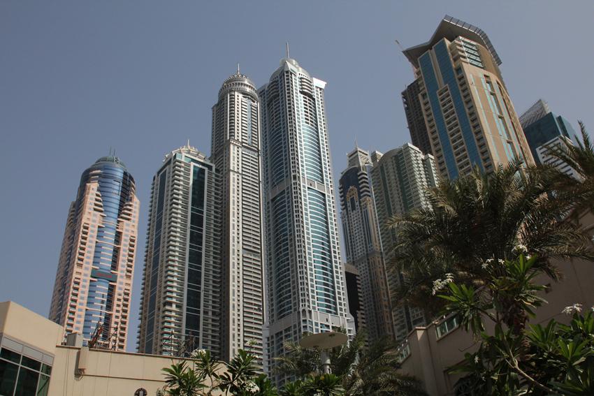 Photography: Dubai UAE - Architecture and the Marina (1/6)
