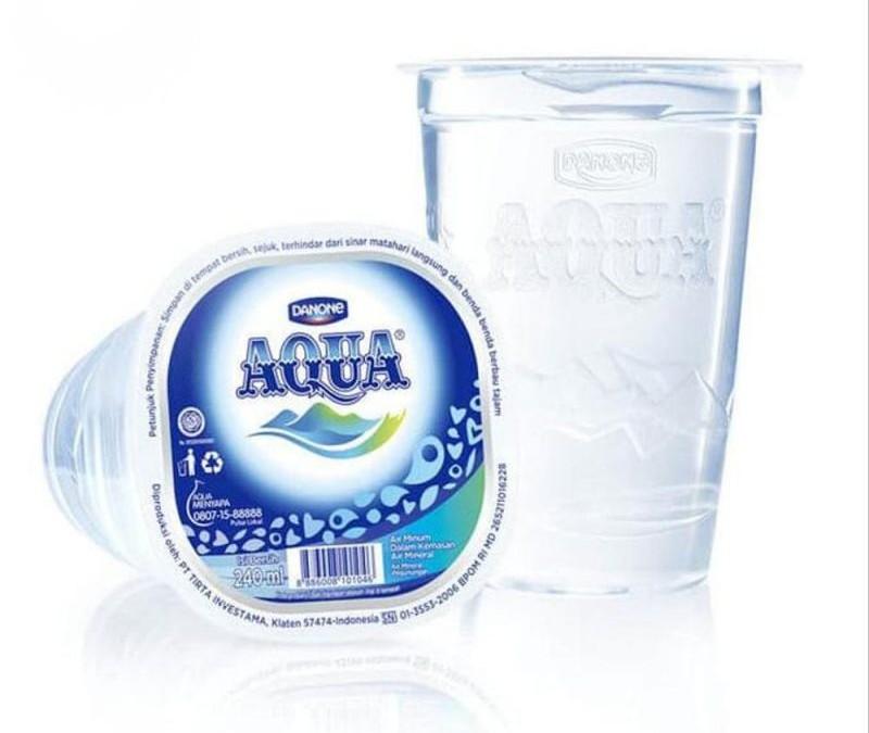 Aqua Gelas @ Rp. 1.000