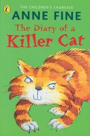 """Anne Fine und ihr Buch """"Tagebuch einer Killerkatze"""""""