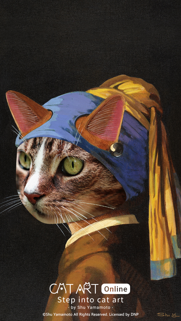 VR Exhibit Answers Question: What If Mona Lisa Was A Cat? #StepIntoCatArt