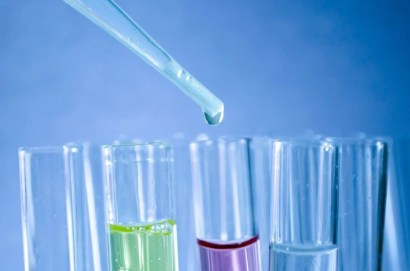 Test tubes for studying chemicals