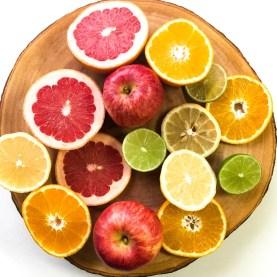 citrus fruit slices