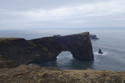 Natural arch near Vik