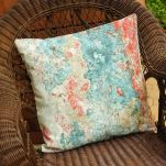 "18"" Abstract Paint Pillow"