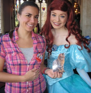 Me and Ariel (and MomFOD again.)