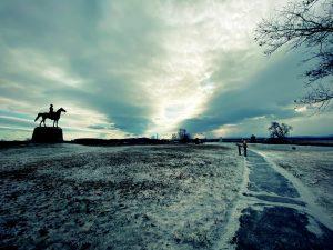 open field at gettysburg