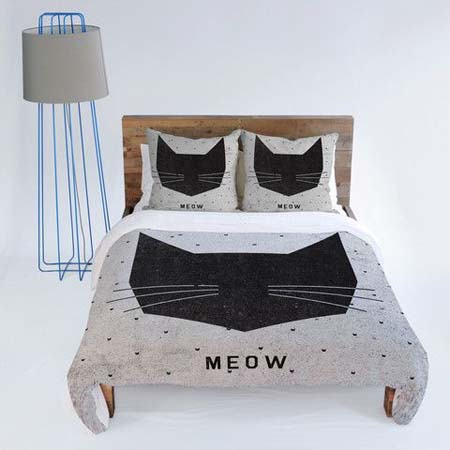 12 Purrfect Cat Themed Duvet Covers And Bedding Sets Cat