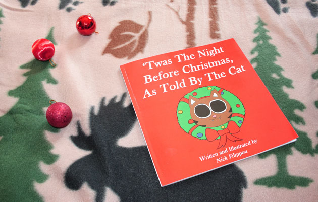 Book 'Twas The Night Before Christmas, As Told By The Cat