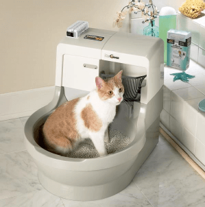 Cat genie toilet hookup