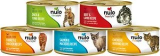 Nulo Freestyle Grain-Free Multi-Protein Variety Pack Canned Cat & Kitten Food