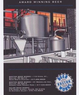 Bar Menu – Micro Brewery