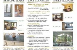 Residential Real Estate Tri-Fold Brochure (Inside)