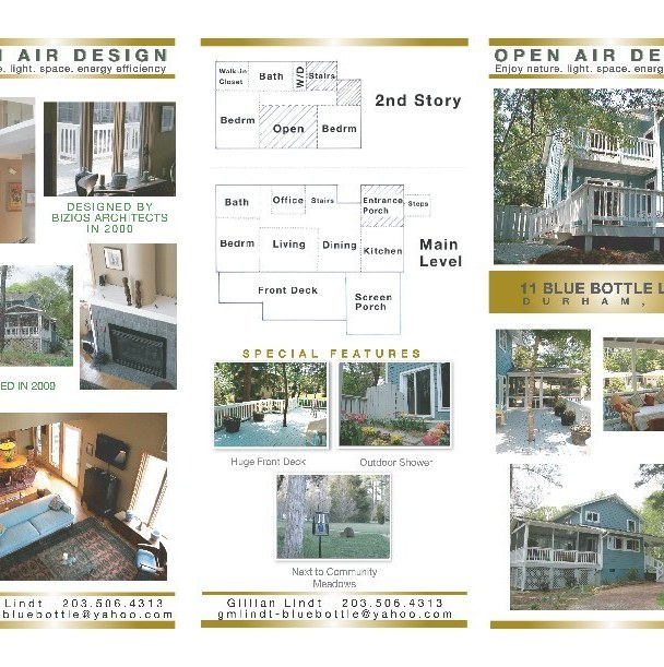 Residential Real Estate Tri-Fold Brochure (Outside)