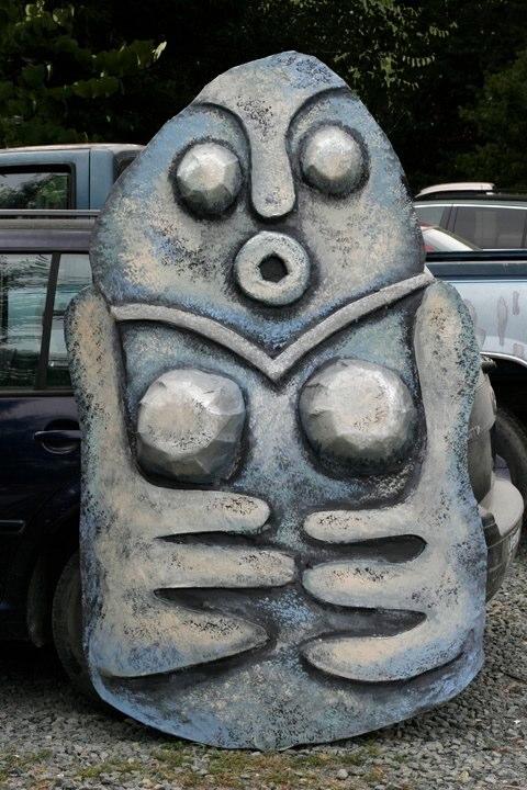 Stone Goddess Figure