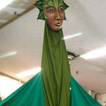 """Forest Goddess II"" Play: The Serpent's Egg, Paperhand Puppet Theater"