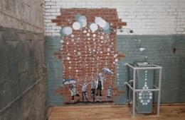 RE-PURPOSED WATER FOUNTAIN Art Installation
