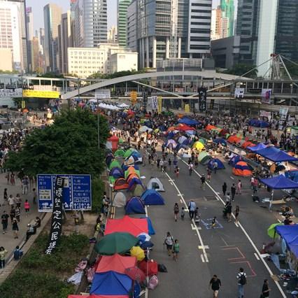 Civil-disobedience: Occupy Central / The Umbrella Movement