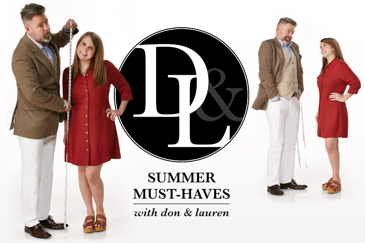 Summer Must-Haves with Don and Lauren. Don and Lauren play with measuring tape