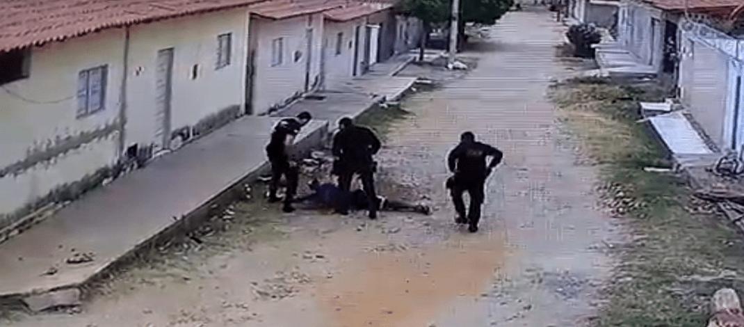 Jovem é preso ao tentar arremessar drogas para dentro de presídio em Pau dos Ferros/RN; Veja Vídeo