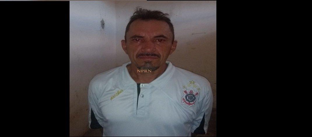 Homem natural de Jérico é preso por força de mandado de prisão em Tenente Ananias/RN