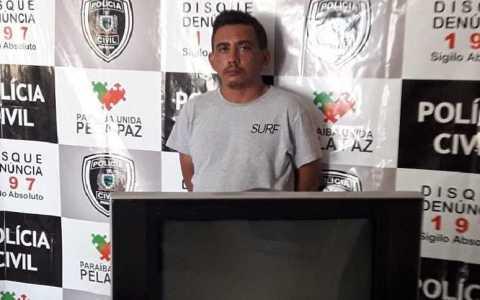 acusado de ameacar e expulsar o proprio pai da residencia e preso pela policia militar em jerico pb