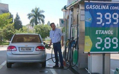 gasolina ja e vendida abaixo dos r 4 na paraiba