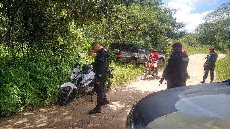 pm aumenta acoes de patrulhamento na zona rural da regiao de brejo do bruz belem e sao jose do brejo do cruz