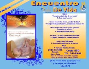 México : Anunciamos el Encuentro de vida en Puebla.