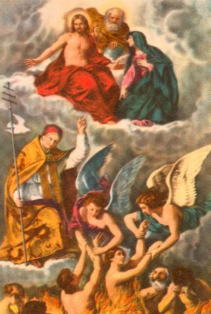 Novena en Sufragio de las Afligidas Ánimas del Purgatorio