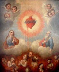 Recorrido por el Purgatorio, en compañía del Sagrado Corazón de Jesús.